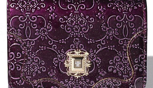 ANNA SUI(アナスイ)人気のエナメル ルーミー 長財布、ミニ財布